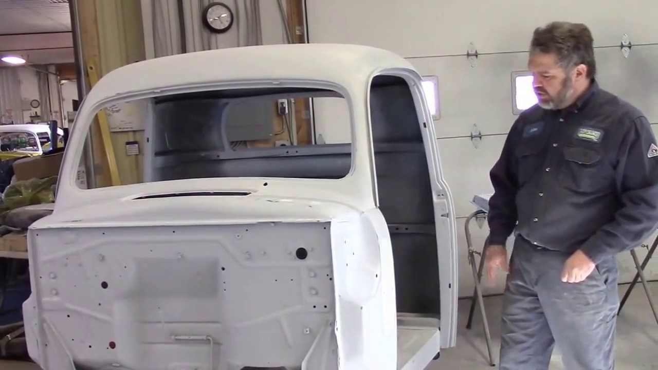 1950 Ford F47 F1 Truck Restoration Update Doors Amp Cab