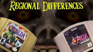 Majora's Mask Regional Differences and Cut Content