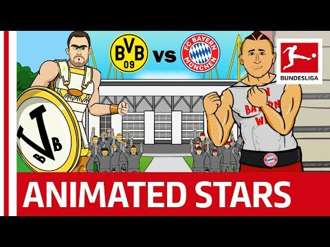 Der Klassiker: BVB vs. FCB Rocky Style - Powered by 442oons