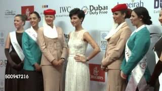 توبا بويكستون تخطف الأنظار بفستان الأميرات في «دبي السينمائي» (فيديو)