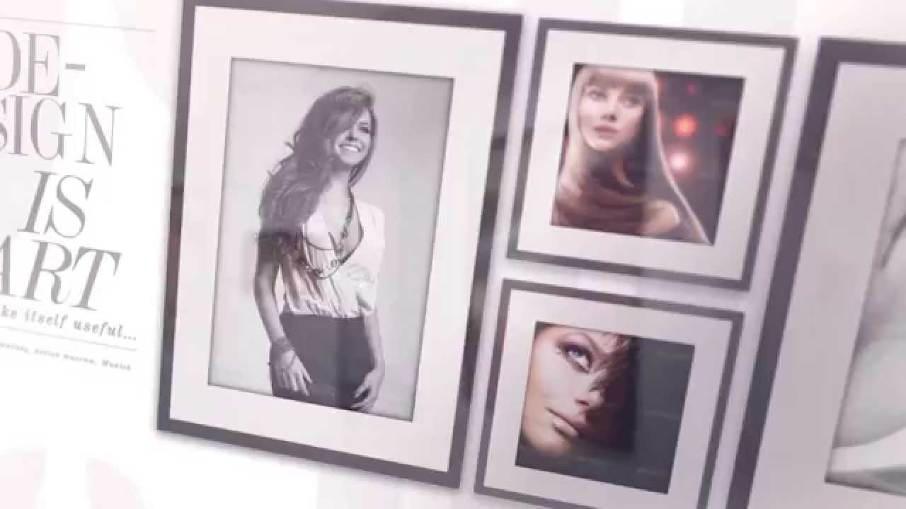 3D Frames Photo Gallery - After Effects Project (Videohive ...