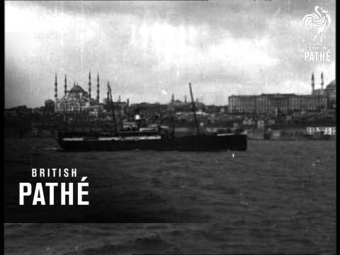 Bosporus - Istanbul (1910)