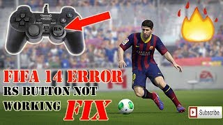 FIFA 14 RIGHT ANALOG STICK (rs)NOT WORKING .FIXED