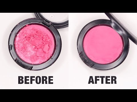 How To Fix Broken Makeup Powder