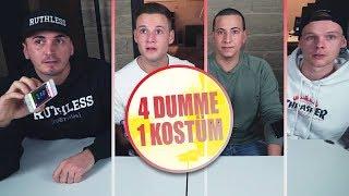4 Dumme 1 Kostüm | du Wunder Zutat | inscope21