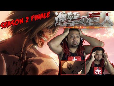 Attack On Titan Season 2 Episode 12 REACTION & REVIEW SHOW | (Shingeki No Kyojin Episode 37)