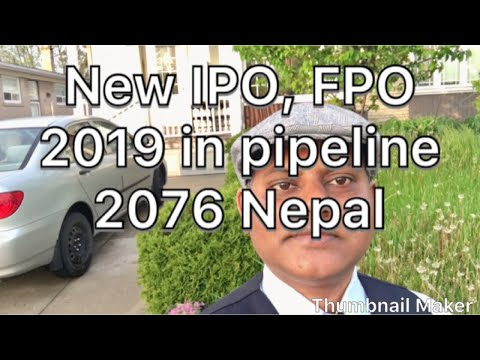 How To See New IPO, FPO, Right Share,bonus Share In Pipeline 2019 Nepal Share Market