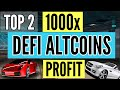 Gambar cover TOP 2 DEFI ALTCOINS that will 100x in 2020 | Best Defi crypto coins 2020 hindi
