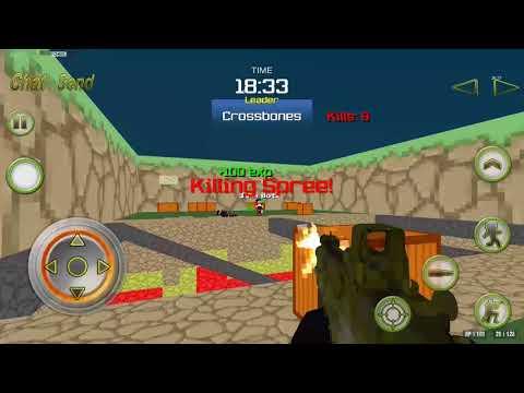 Combat Pixel Arena 3D  Fury Man Mobile PlayThrough