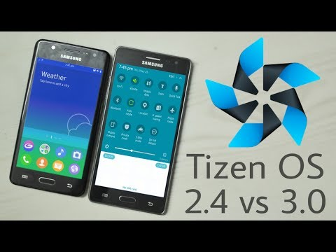 Samsung Tizen OS 2.4 vs 3.0 : Quick UI Comparison
