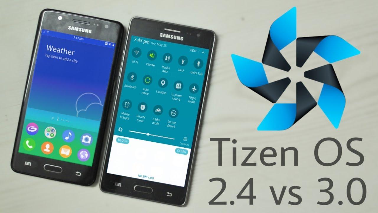 Samsung Tizen OS 2 4 vs 3 0 : Quick UI Comparison