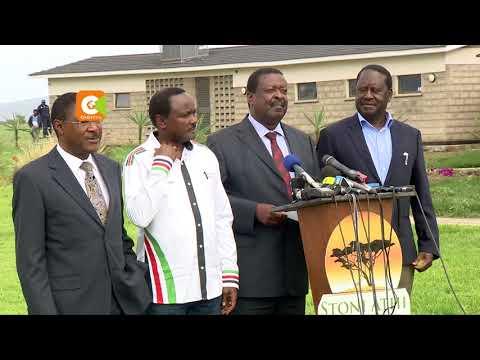 NASA Co-principals demand all-inclusive talks with Kenyatta