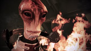 Mass Effect 3 Mordin S Death Full Paragon W Singing