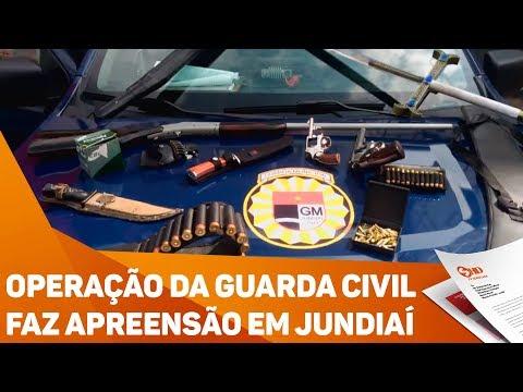 Operação da Guarda Civil faz apreensão em Jundiaí - TV SOROCABA/SBT