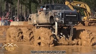 mudding in trucks