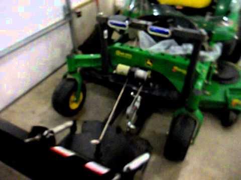 2010 John Deere 930 Zero Turn Snow Plow And Cab Youtube
