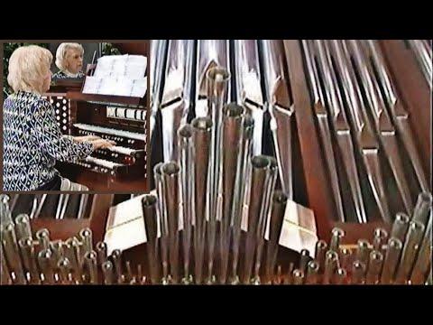 G.F. Händel, Hornpipe from Water Music at De Vos Chapel - Diane Bish