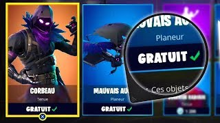 [EXCLUDED GLOBAL] HAVE THE CORBEAU TENUE - 5,000 V-BUCKS FOR FREE -FORTNITE (PS4,XBOXONE,PC)