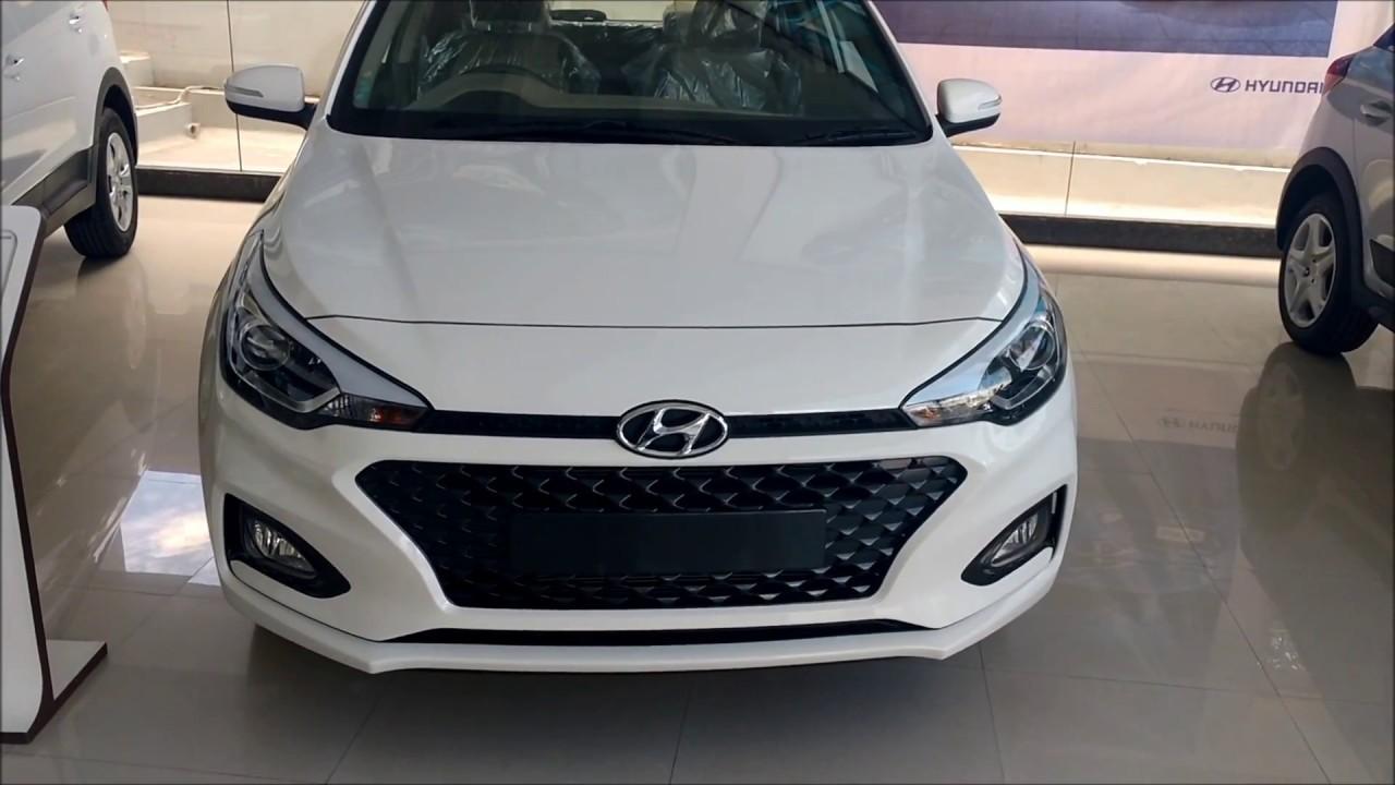 Hyundai New 2018 Elite I20 Asta Optional Polar White
