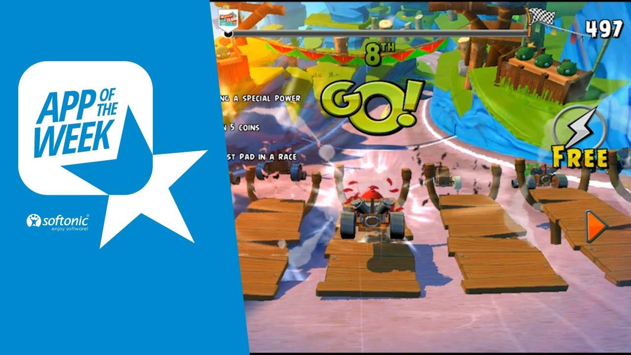 App de la Semana 11  Angry Birds GO Cmo funciona el juego de