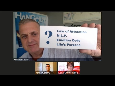 Episode #188 Viewers Q&A Law of Attraction, NLP, and Emotion Code with Michael Losier