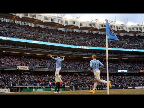 SIGHTS & SOUNDS: NYCFC's Home Opener at Yankee Stadium