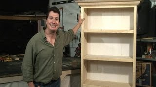 This video will show how to create, design and build your own bookcase in the comfort of your own home today! You don
