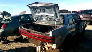 Super Low Mileage Old Buick Century at the Junk Yard