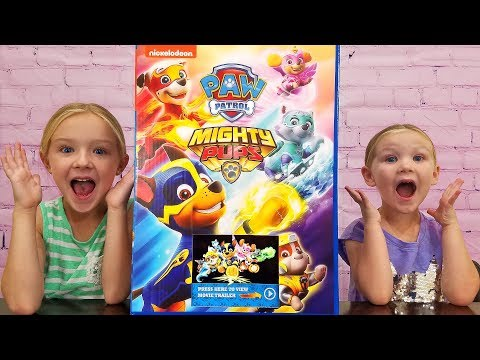 Opening All New Paw Patrol Mighty Pups Toys!!!
