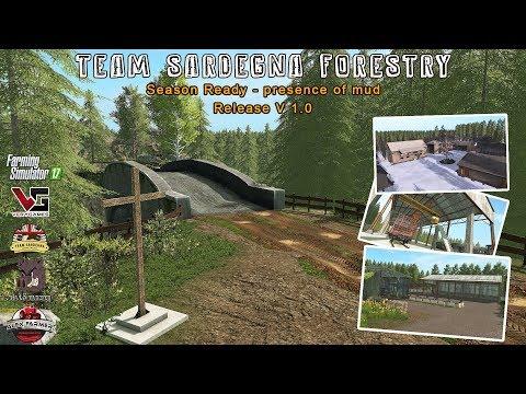 TEAM SARDEGNA FORESTRY MAP  SEASON READY - PC DOWNLOAD | FARMING SIMULATOR 17