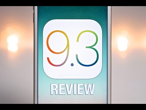 iOS 9.3 Review - What