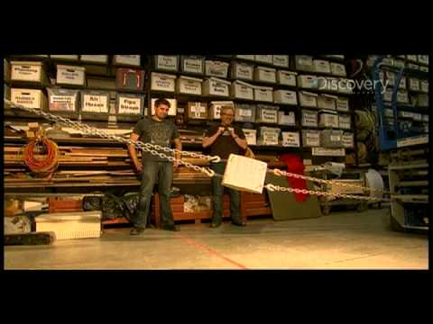 MythBusters - Phone Book Friction