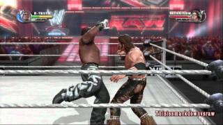 WWE All Stars DLC: R-Truth Gameplay R-Truth  vs. John Morrison (Playstation 3)