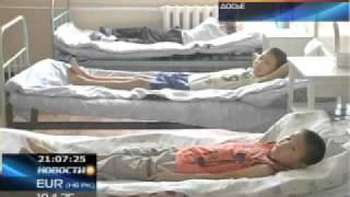 Павлодарские ученики учатся в медицинских перчатках