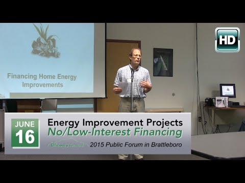 Energy Improvements Financing Forum - 6/16/15