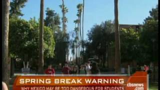 Travel Warning At Spring Break