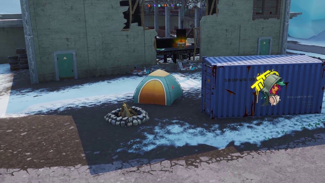Where to find lost spray cans for Fortnite Spray and Pray ...