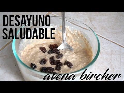 Desayuno Saludable Para TONIFICAR - Avena Bircher Alta en Proteina