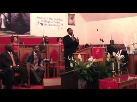 Minister Harry Chubbs' Initial Sermon