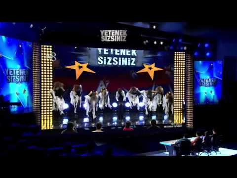 Assorti Dans 'Dans Gösterisi' - Yetenek Sizsiniz Türkiye 16 Kasım 2014