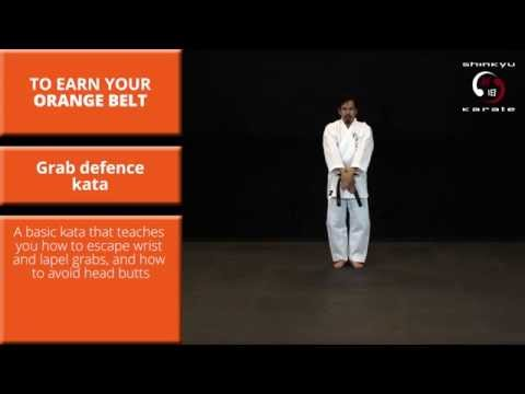 Train At Home: Kata #1 - Grab Defence Kata - Grading to 7th Kyu (Orange Belt)