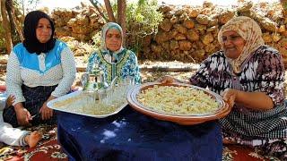أشهر أكلة مغربية في البادية بمناسبة الدزازة مع عائلة لالة حادة