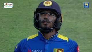 Dhananjaya De Silva hitting 84 off 66 balls vs South Africa