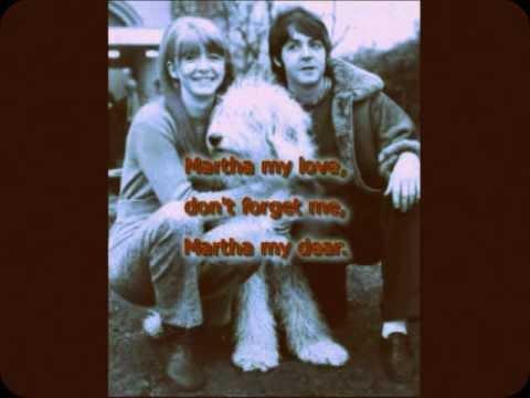 ♪♫ MARTHA MY DEAR by The Beatles, [karaoke] Instrumental arrangement by Richard Fiechter, Jr.