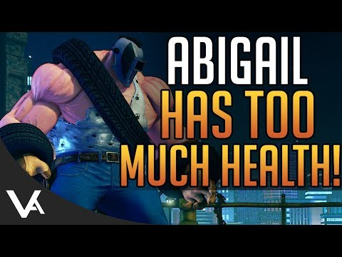 SFV - Abigail Has Too Much Health! Abigail Online Gameplay Matches For Street Fighter 5