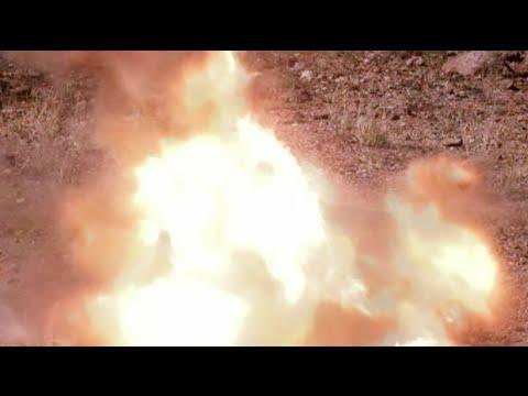 Testing WWII Exploding Ammunition