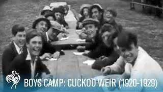 Boys Camp: Cuckoo Weir (1920-1929) | British Pathé
