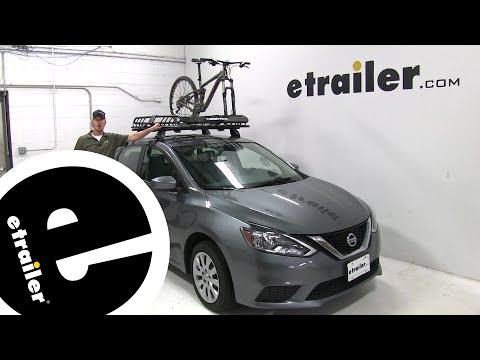 etrailer   Rhino Rack Roof Basket Review - 2017 Nissan Sentra