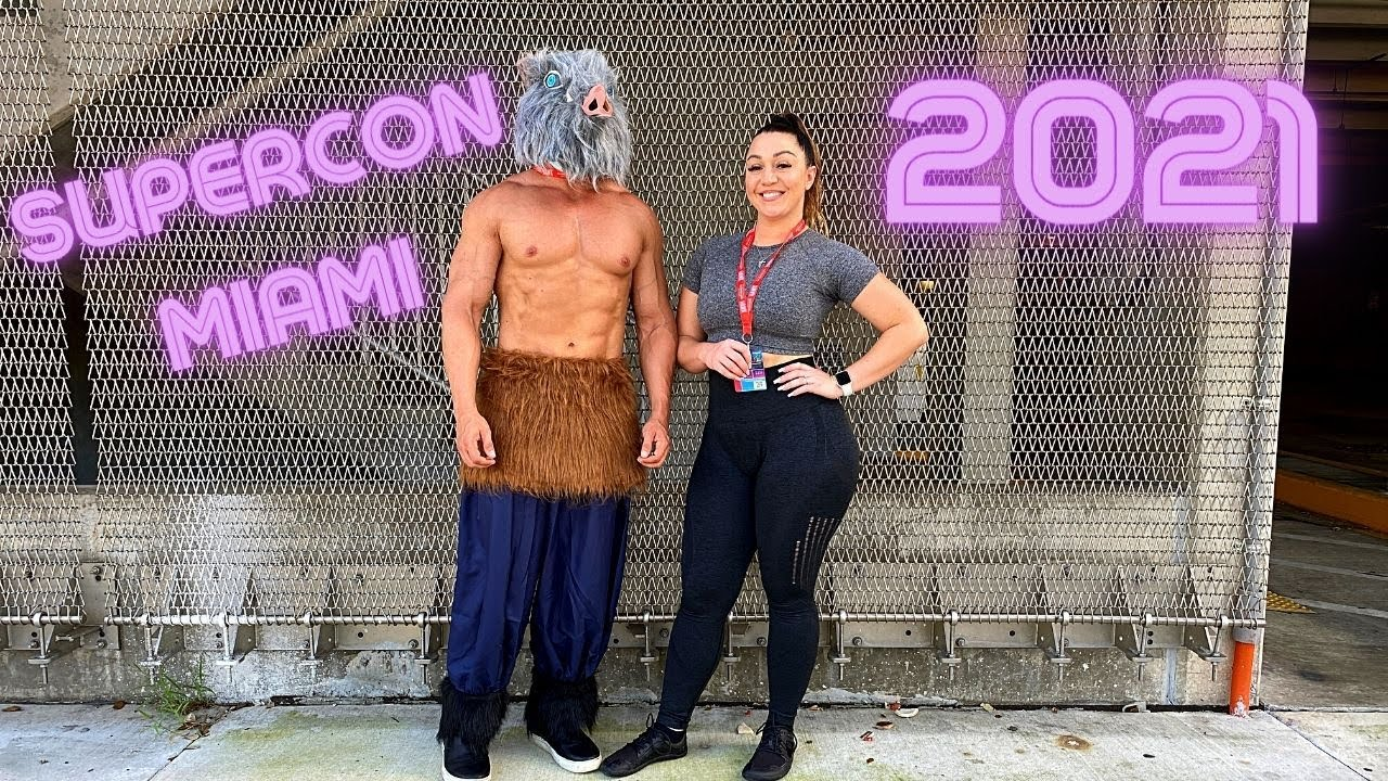 MY FIRST COSPLAY EVENT | SUPERCON MIAMI