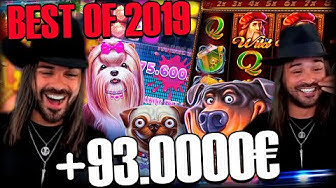 ROSHTEIN  Record win on The Dog House slot - Top 5 Best Wins of 2019 Year #1